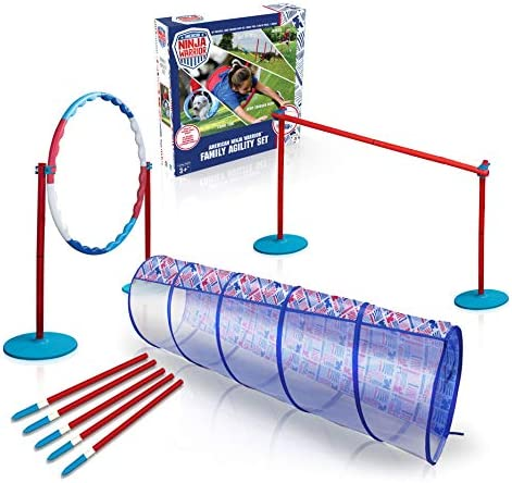 American Ninja Warrior Family Agility Set Obstacle Race Course Great for Children Adults and product image