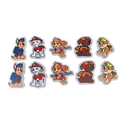 Nickelodeon Paw Patrol Bath Wall Clings, 10 Pack