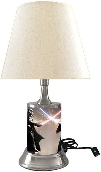 Star Wars Darth Vader And OBI Wan Lamp With Shade