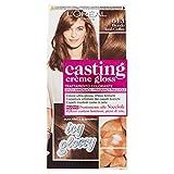 L'Oréal Paris Tinte para el cabello Casting Creme Gloss, sin amoniaco, para una fragancia agradable, 613 Rubio Iced-Coffee (paquete de 1)