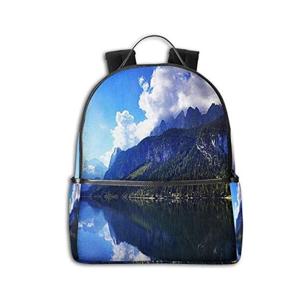 SGSKJ Mochila Tipo Casual Mochila Escolares Mochilas Escolar Estilo Impermeable para Viaje De Ordenador Portátil para…