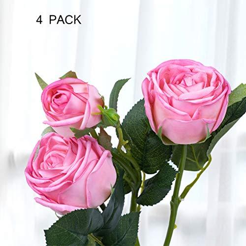 Sarazong Fleur Artificielle hydratante Rose, Faux Fleur Salon Ameublement Faux Fleur Décoration Faux Fleur Fleur Artificielle pour La Décoration Intérieure,B