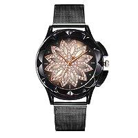 Vonlor 腕時計 レディース時計ローズゴールド ステンレススチールウオッチ アナログクオーツ腕時計 シンプルデザイン おしゃれ ファッション ビジネス カジュアル女性腕時計