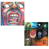 In The Court Of The Crimson King - In The Wake Of Poseidon - King Crimson 2 CD Album Bundling