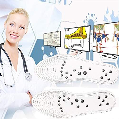 XIAOLI Fördern Sie die Durchblutung, die Einlegesohlen-Fuß-Magnetmassage-Gesundheitswesen-Massage-Entlastungsschmerztherapie 1pair abnimmt