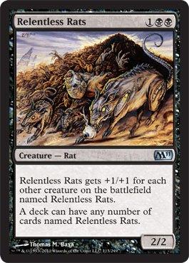Relentless Rats - Magic 2011 (M11) - Uncommon