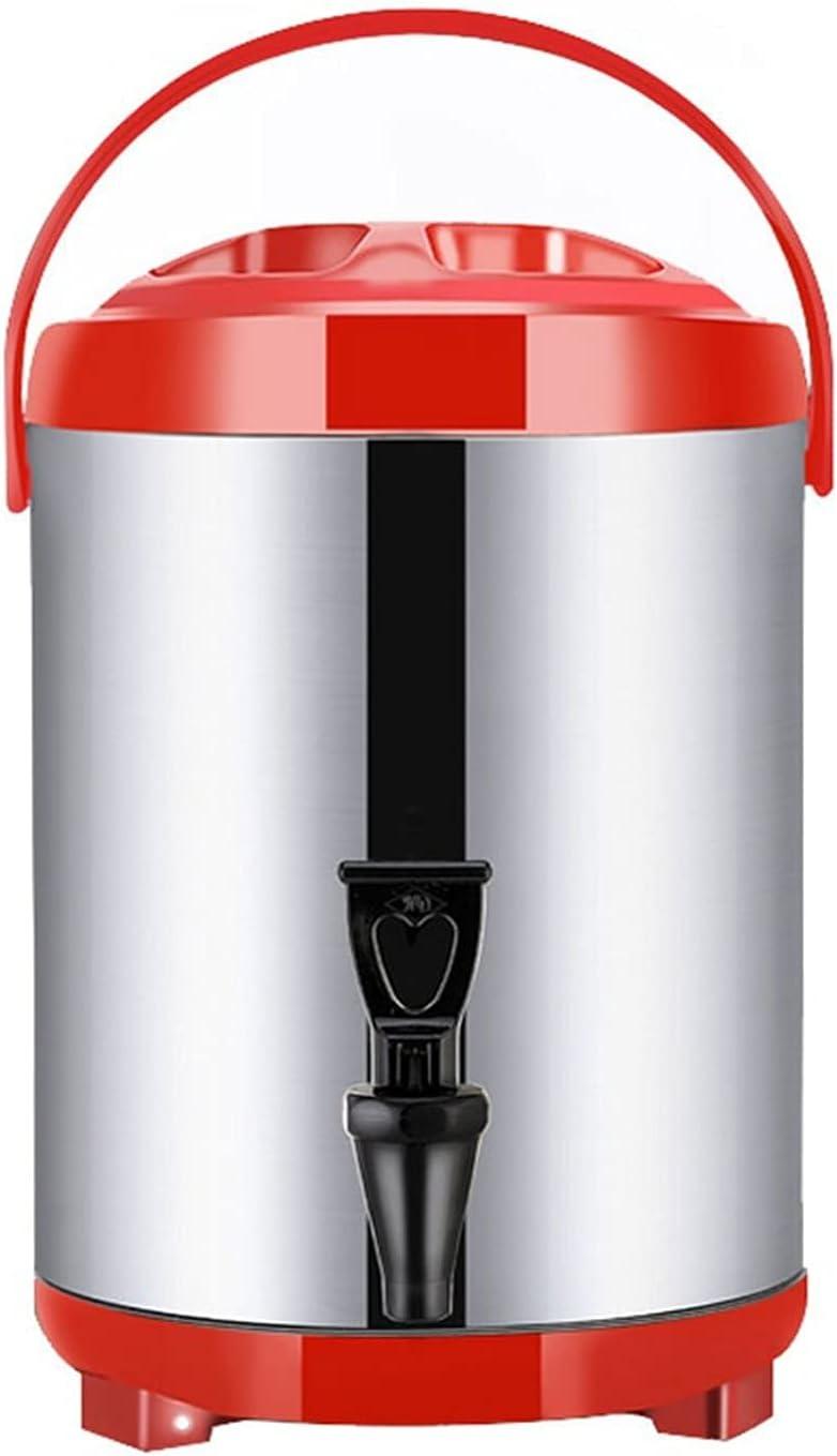 KXHWSH Dispensador de Bebidas Calientes con Grifo y Trípode Plegable, Dispensador de Agua Hervidor de Bebidas Urna de Café de Acero Inoxidable para Fiestas, Oficina,6L/8L/10L/12L/14L/18L/20L