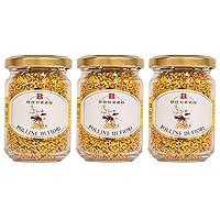 BREZZO社 PURE HONEY(100%天然はちみつ)シリーズ ビーポーレン(ミツバチ花粉)×3個セット