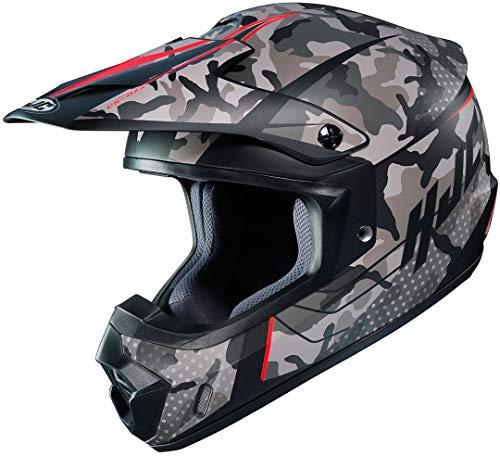 HJC CS-MX II Sapir Motocross Helm Schwarz/Grün/Rot L (59/60)