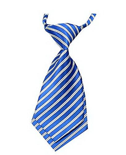 Unique bébé cravate réglable cravate Parti Wedding Show cravate Garçon [Bleu]