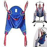 ZIHAOH Lifting Machine Patientenlifter Sling Treppenrutsche Transfergurt, Für Bariatrie, Krankenpflege, ältere Menschen, Behinderte -