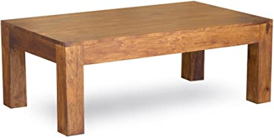 Timbergirl Hand-Crafted Cube Coffee Table, Tall