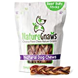 Best Bully Sticks - Nature Gnaws Braided Bully Sticks for Dogs Review