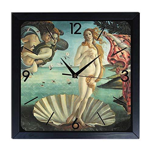 Reloj de pared de madera Botticelli - Venere