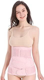 DHINGM 3 in 1 Postpartum Support Recovery Belly Wrap Waist/Pelvis Belt Body Shaper Postnatal Shapewear (Size : XL)