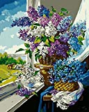 <span class='highlight'><span class='highlight'>DQCY</span></span> Diy Canvas Oil Painting Window sill DIY Digital Painting t's a kind of present for your , families, classmates. Rimless
