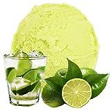 Limone Caipirinha Geschmack 333 g Gino Gelati Eispulver für Ihre Eismaschine