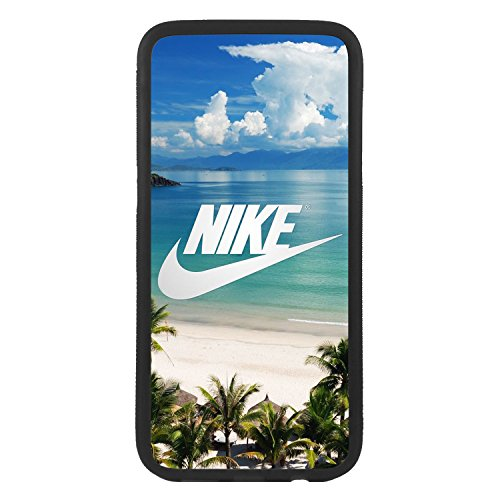 afrostore Funda Carcasa de móvil para Samsung Galaxy A5 (2016) Logotipo Nike Playa Logo TPU Borde Negro
