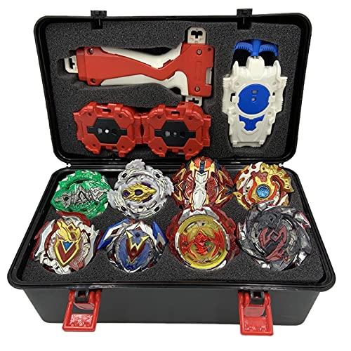 Mettime Beyblade Burst Turbo Set,Peonzas Juguetes Conjunto,Burst Turbo Launcher Set,Navidad Regalo, Regalo para Los Niños