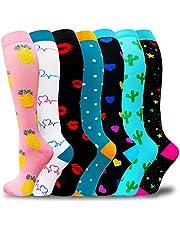 Compression Socks For Women & Men-Best Support Socks For Circulation,Medical,Running,Athletic Small-Medium Multi