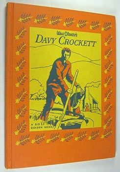 Hardcover DAVY CROCKETT king of the wild frontier Book