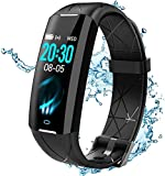 ELEGIANT Fitness Activity Tracker, Smartwatch Bluetooth Orologio Impermeabile IP68 6 Sport per...