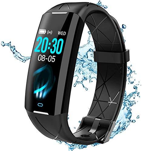 ELEGIANT Fitness Activity Tracker, Smartwatch Bluetooth Orologio Impermeabile IP68 6 Sport per iPhone 11 pro XS Max XR X 8s Samsung S20 S10 S9+ Huawei Mate P20 P30 P40 PRO HTC LG Motorola ecc