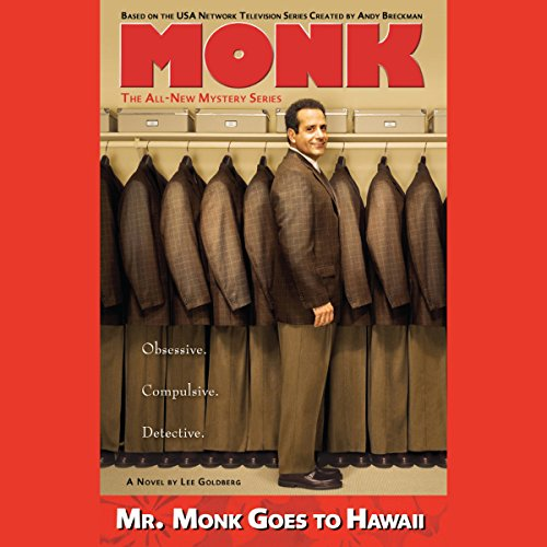 Mr. Monk Goes to Hawaii audiobook cover art