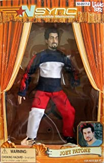 N Sync Collectible Marionette Figure - Joey Fatone Figure: Discontinued, Living Toyz by Nsync