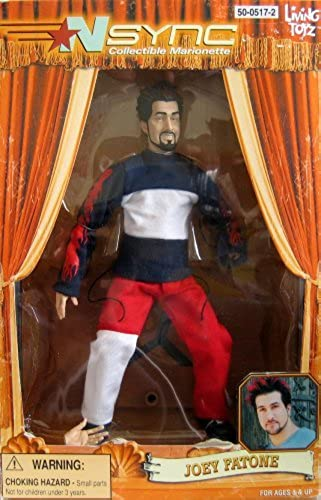 N Sync Collectible Marionette Figure - Joey Fatone Figure  Discontinued, Living Toyz by Living Toyz