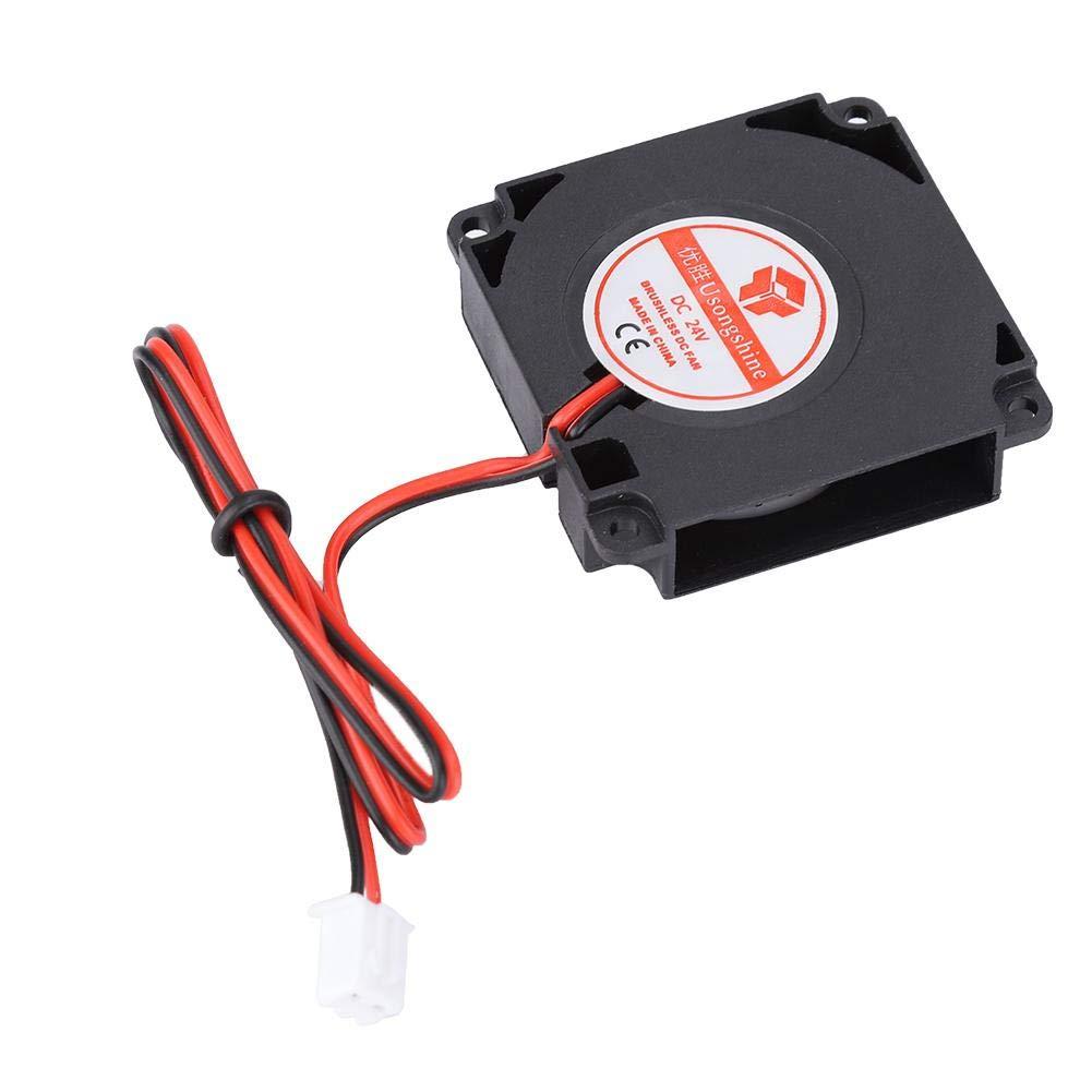 24V 4010mm DC Blower Cooling Fan Blower Fan 2-Pin Low noise3D Printer Accessories Kit DC 40mm