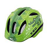 Ked Meggy Trend Green Croco 2017, Casco da mountain bike, per bambini, casco per downhill, Green Croco, S