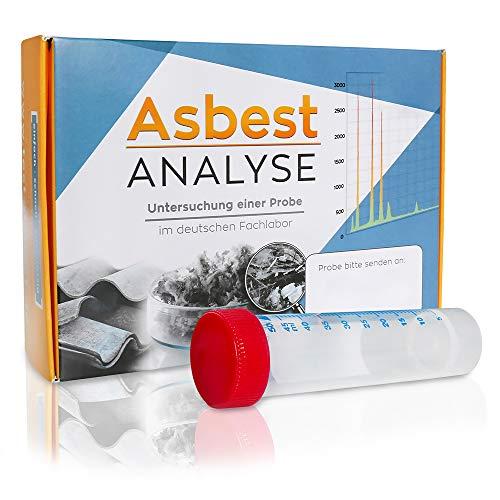 Preisvergleich Produktbild Asbest Test zum Nachweis von Asbest in einer Staubprobe oder Materialprobe