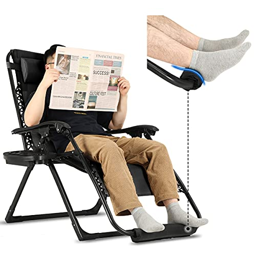 Zero Gravity Chair Oversized with Foot Rest...
