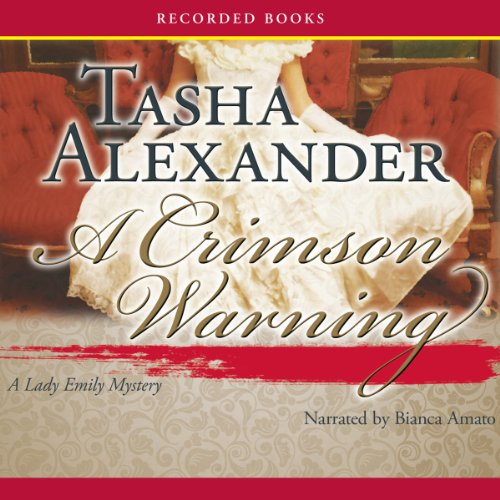 A Crimson Warning audiobook cover art