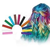 Haarkreide, Hair Chalk, Haarkreide Kinder, Hair Dye Pen, Waschbare Haarfarbe, Ungiftig waschbare...