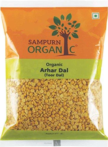 Sampurn Organic Arhar Dal Toor Dal 500 g