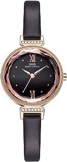 Women Watches Leather Strap Round Case Analog Fashion Ladies Watch Wrist Watches 8632