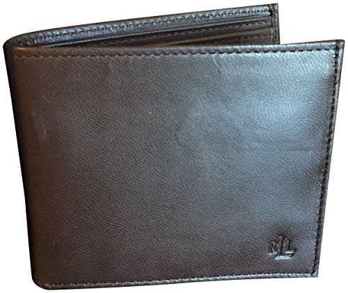 LAUREN Ralph Lauren Men's Burnished Billfold Brown One Size