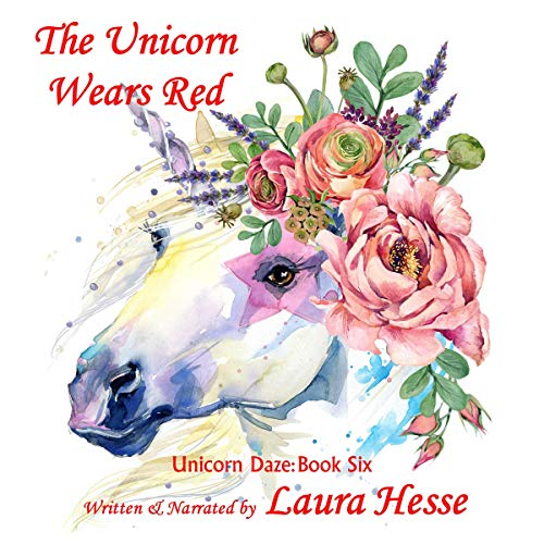 The Unicorn Wears Red audiobook cover art