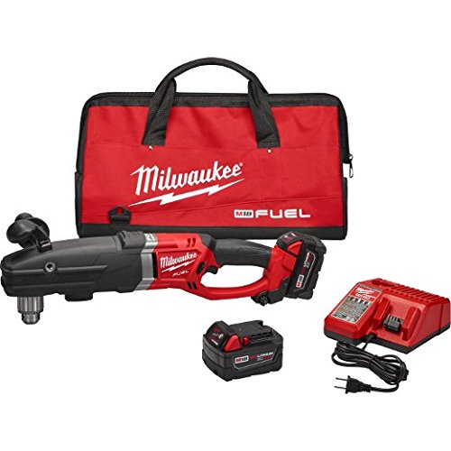 Milwaukee 2709-22 M18 Fuel Super Hawg 1/2' Right Angle Drill Kit