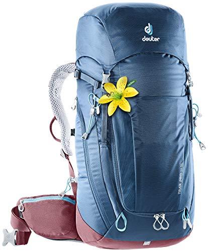 Deuter Trail PRO 34 SL Zaino Casual, 64 cm, Liters, Blu (Midnight-Maron)