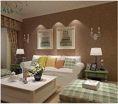 Yosot Mediterraan stijl pure bevlokking vliesbehang woonkamer eetkamer loopweg achtergrond kaki