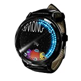 Among Us Reloj Reloj LED Pantalla táctil a Prueba de Agua Luz Digital Reloj Reloj de Pulsera Unisex Cosplay Regalo Nuevos Relojes de Pulsera Regalo para niños-A026