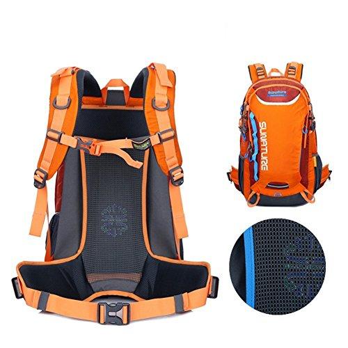 Sincere® Package / Sacs à dos / portable sac à bandoulière / Ultraléger Alpinisme / sac à dos étanche / extérieur sac de Voyage de Voyage / sac de sport-Orange 40L