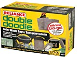 Reliance Products 2683-03 Double Doodie Toilet Waste Bags (6-Pack), Brown...