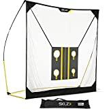 SKLZ Quickster Golf Net 6 X 6ft with Chipping Target and Carry Bag - Ultra Portable Driving Range with Quick Assembly, Perfect Your Swing, Improve Your Aim, and Develop Your Hand-Eye Coordination