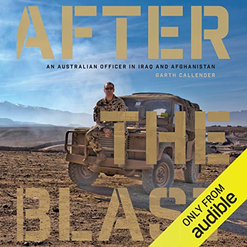 After the Blast audiobook cover art