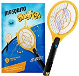 Zenoplige Bug Zapper, USB Rechargeable Fly Zapper Racket Electric Bug Mosquito Swatter
