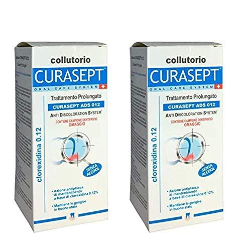 2 confezioni di Curaden Curasept ADS Clorexidina 0,12% Collutorio 200 ml